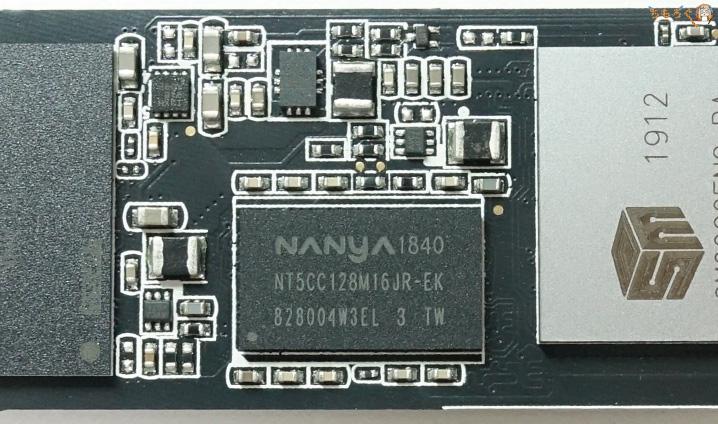 Adata XPG SX8200 ProのDRAMキャッシュ