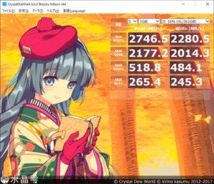 Ryzen 9 3900Xのストレージ性能