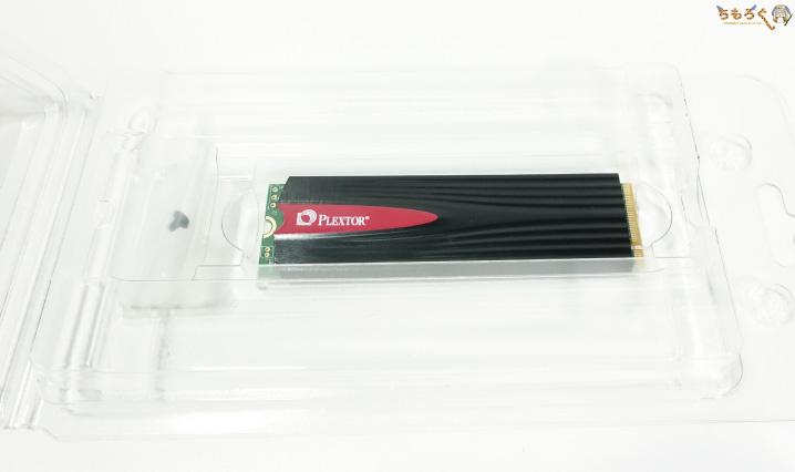 Plextor M9PeGの梱包
