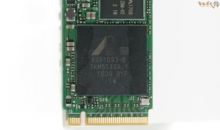 Plextor M9PeGのコントローラ