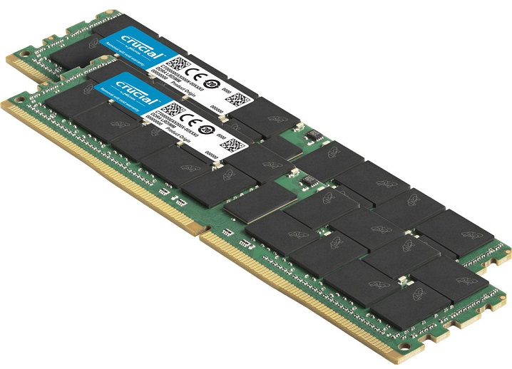 1枚で128 GBなサーバー向けメモリ
