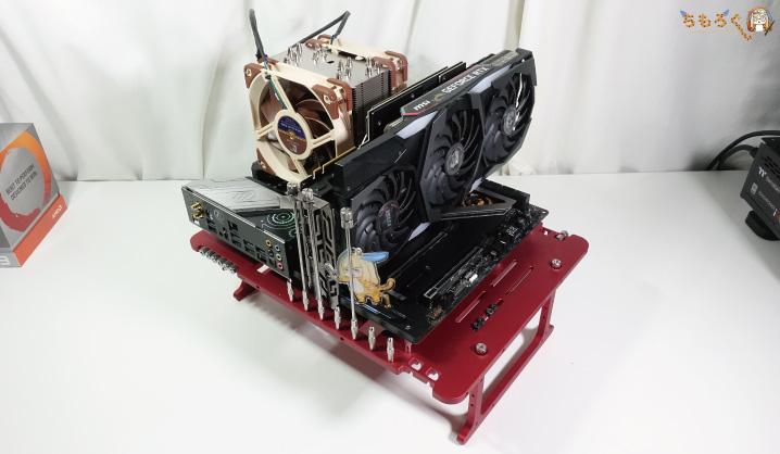 Ryzen 9 3900Xのテスト環境