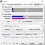 Lenovo Legion Y540(17)のCPU性能