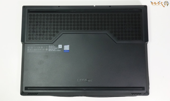 Lenovo Legion Y540の外観チェック