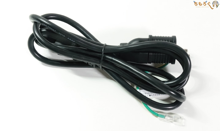 Lenovo Legion Y540の電源ケーブル