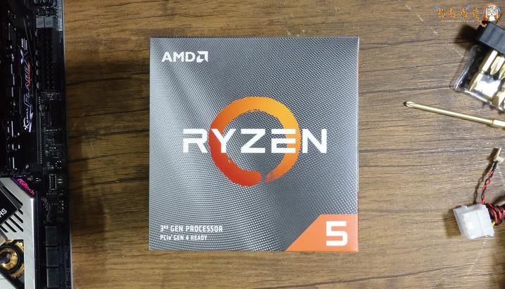Ryzen 5 3600のパッケージ