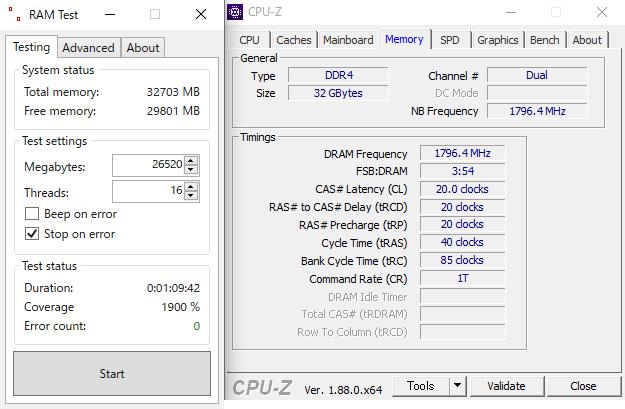ASUS TUF B450-Pro GamingのメモリOC耐性