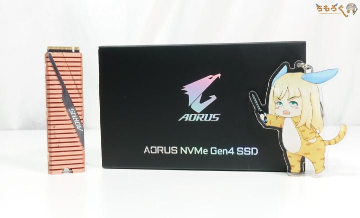 GIGABYTE Aorus NVMe Gen4 SSDをレビュー