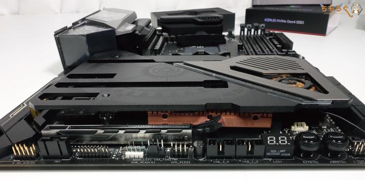 GIGABYTE Aorus NVMe Gen4 SSDの注意点