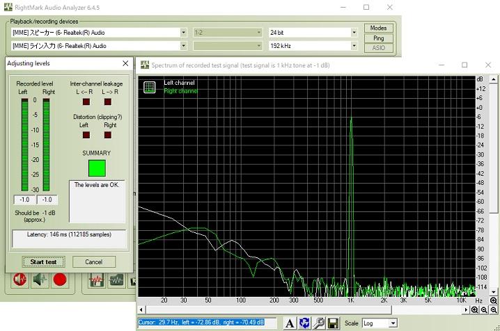 Realtek ALC S1200Aのオーディオ性能