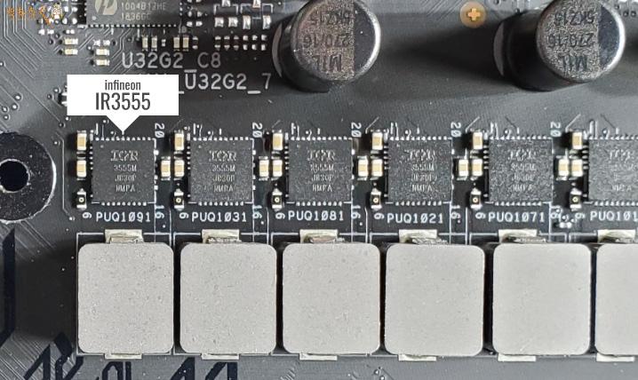 CPU用MOSFET「Infineon IR3555」