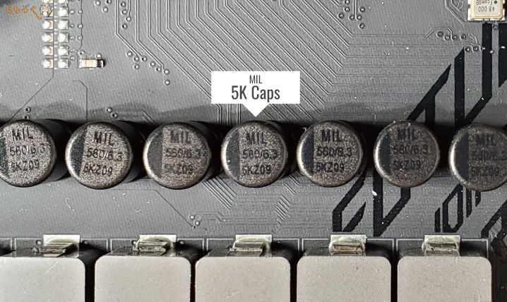 コンデンサ「MIL 5K Caps」