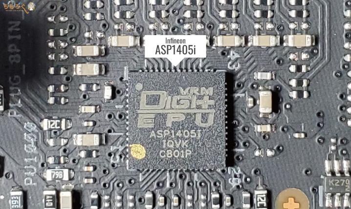 PWMコントローラ「Infineon ASP1405i(IR35201)」