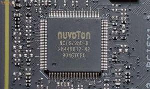 Super I/Oモニタリングチップ「NuvoTon NCT6798D-R」