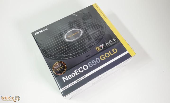 電源ユニットは「Antec NeoECO 650 Gold」