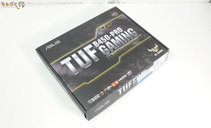 ASUS TUF B450-Pro Gamingをレビュー
