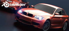 Blender(Cycles Benchmark BMW)