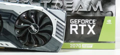RTX 2070 Superの平均パフォーマンス