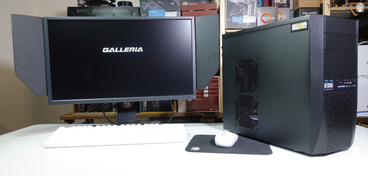 GALLERIA RV5を実際に検証