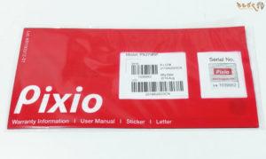 「Pixio PX279RP」の付属品