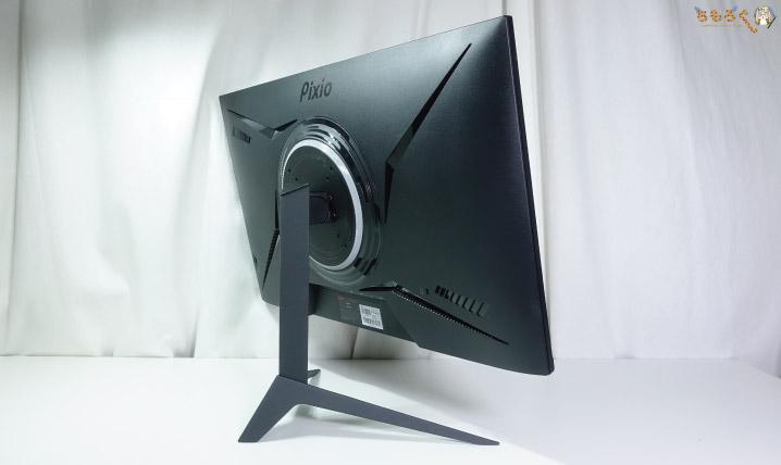 「Pixio PX279RP」の外観(デザイン)