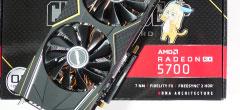 Radeon RX 5700の平均パフォーマンス