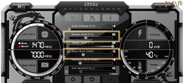 RTX 2060 Superをアンダークロックする