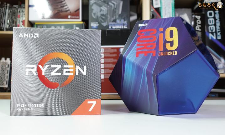 CPUの2大巨頭「Ryzen」と「インテル」