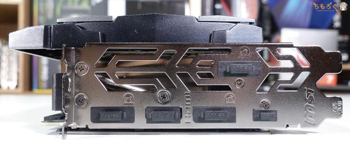 MSI RTX 2080 SUPER GAMING X TRIOをレビュー(映像出力)