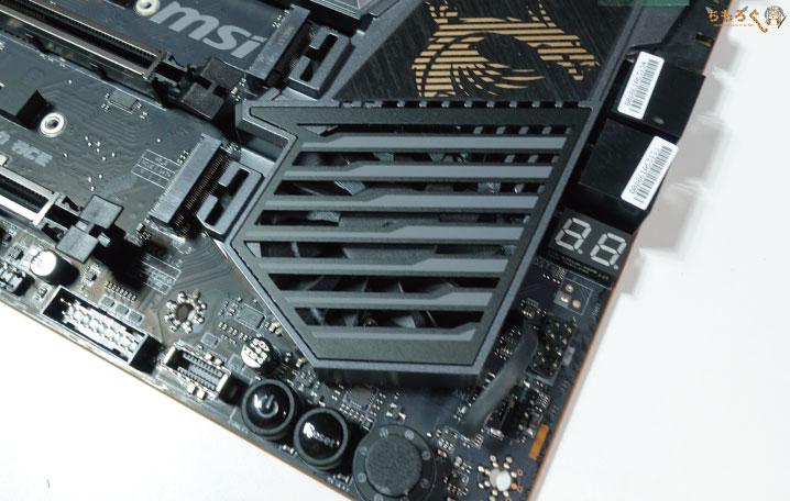MSI MEG X570 ACEをレビュー(チップセットファン)