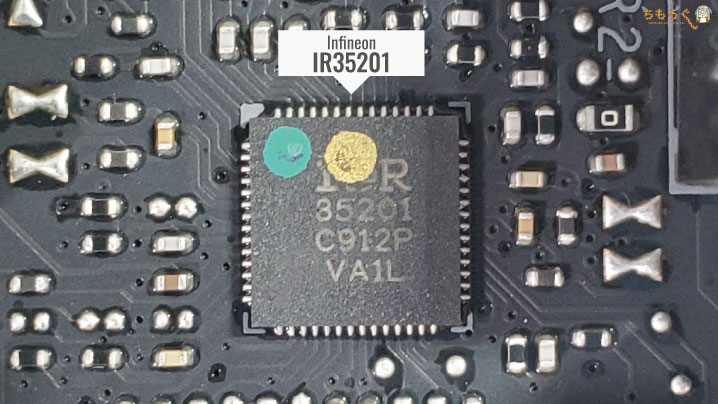 MSI MEG X570 ACEをレビュー(PWMコントローラ)