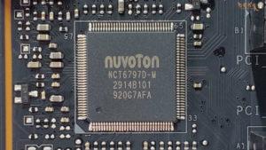 MSI MEG X570 ACEをレビュー(NuvoTon)