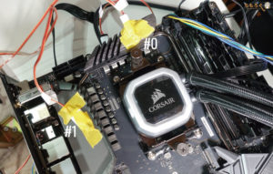MSI MEG X570 ACEをレビュー(VRMフェーズの温度計測)