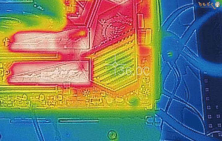 MSI MEG X570 ACEをレビュー(サーモグラフィーで温度チェック)