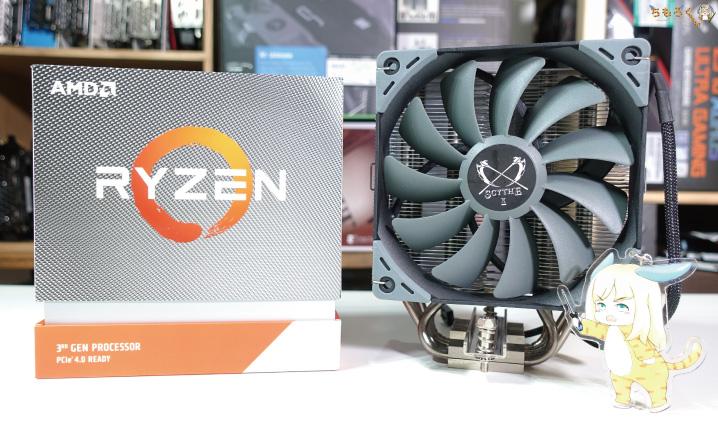 Ryzen 9 3950Xは空冷で冷やせる