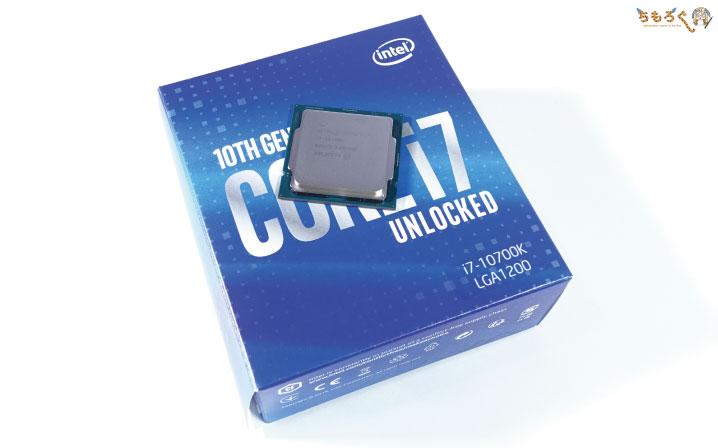 Core i7 10700K:ゲーミング性能に特化したCPU
