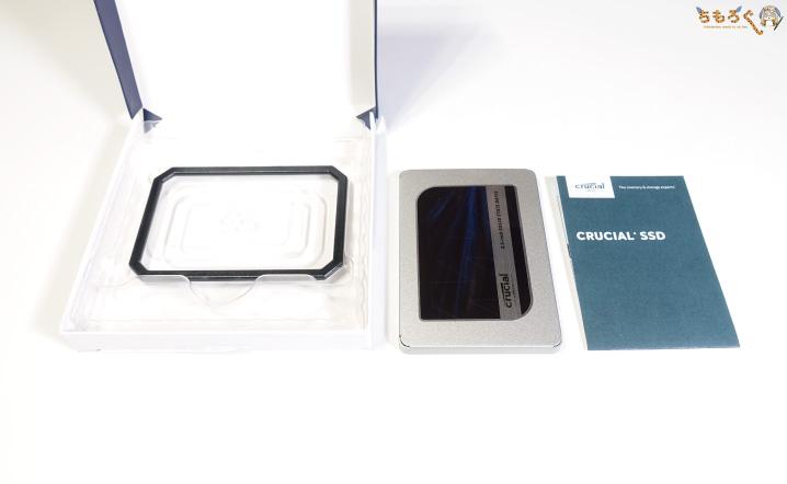 Crucial MX500(パッケージ)