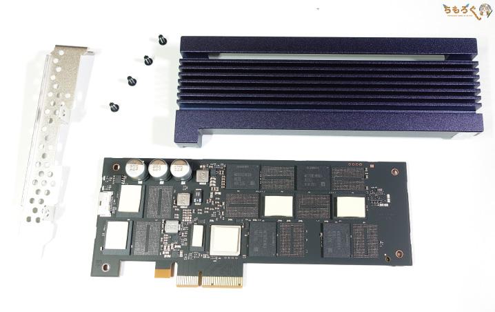 Samsung 983 ZET(内部コンポーネント)