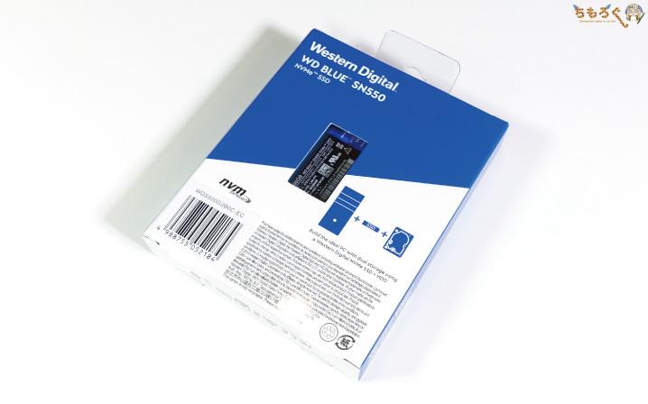 WD Blue SN550(パッケージ)