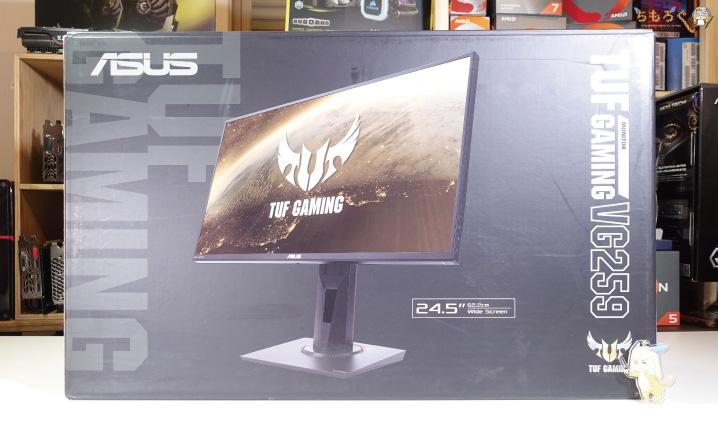 ASUS TUG Gaming VG259Qをレビュー(開封)