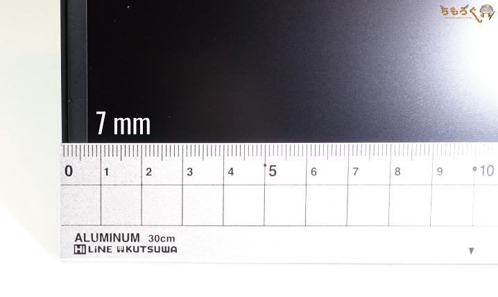ASUS TUG Gaming VG259Qをレビュー(ディスプレイパネルを観察)