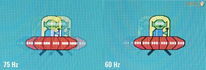 BenQ GL2480をレビュー(75 Hz駆動をチェック)