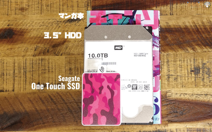 Seagate One Touch SSDをレビュー(寸法とサイズを測る)