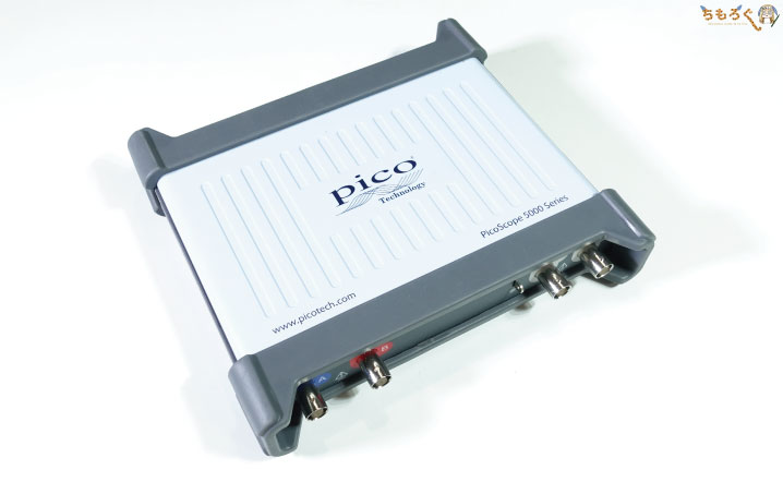 PicoScope 5242Aに買い替えました