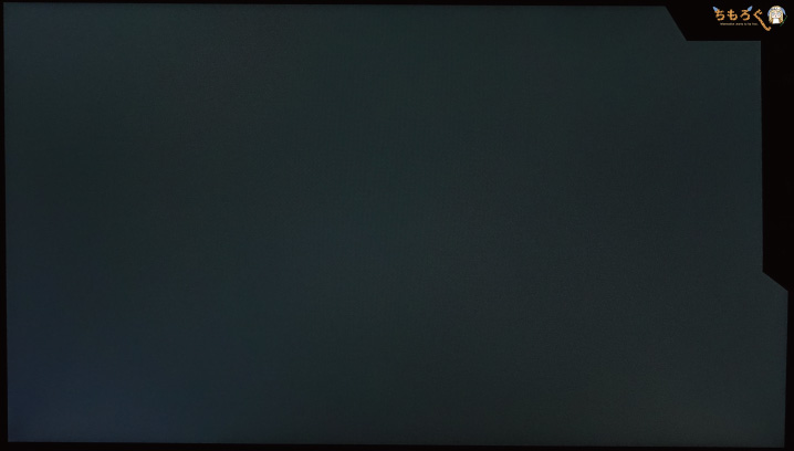 TUF Gaming VG279QMをレビュー(パネルの均一性)