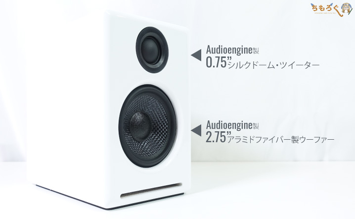 Audioengine A2+ Wireless:レビュー(ドライバー)