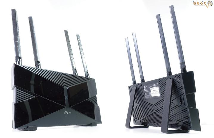 TP-Link Archer AX50(AX3000)をレビュー:縦置きにしてみた
