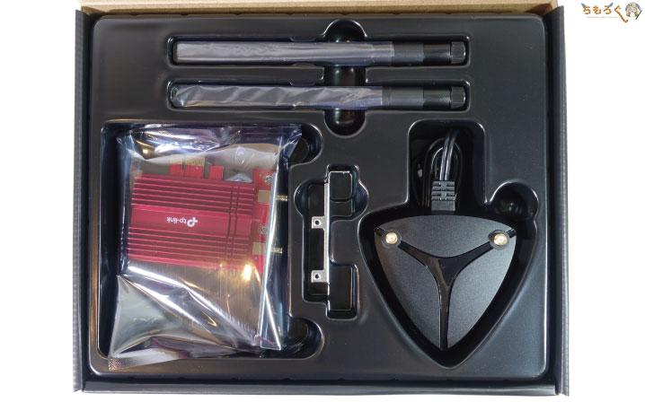 TP-Link Archer TX3000Eをレビュー:付属品