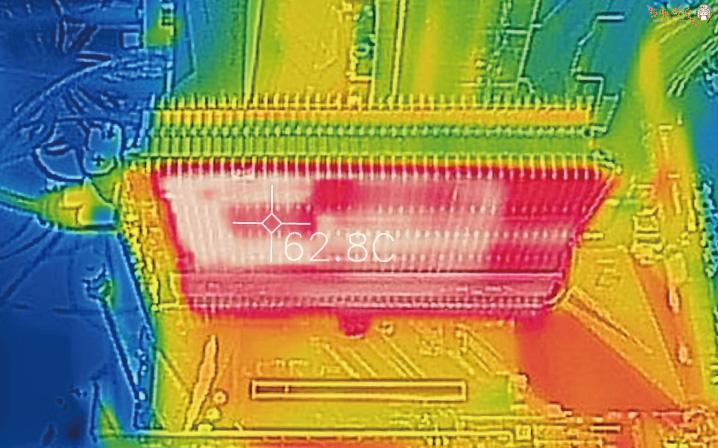 「Palit GTX 1650 KalmX」をレビュー(サーモグラフィーで表面温度)