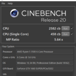 GALLERIA RT5をレビュー(CPU性能をチェック)
